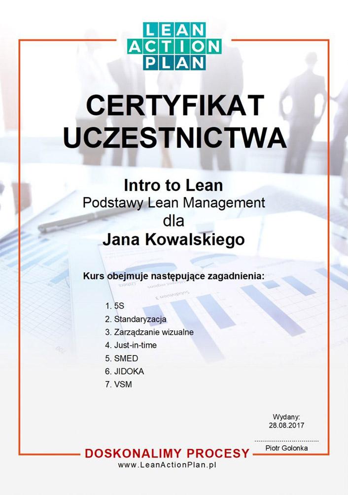 Odbierz certyfikat